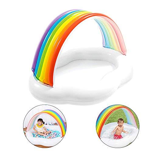 Baby Peuterbad, Inflatables Rainbow Bridge Children's Pool Home Ocean Ball Zwembaden Kids Opblaasbare Fun Water Play Center
