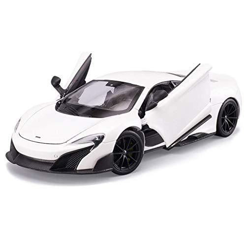 modelo de construcción de coches, Metal Car Toys Die Mode Modelo Modelo COLECCIÓN DE LA COLECCIÓN DE VEHÍCULOS PARA LOS NIÑOS DE LOS NIÑOS DE LOS NIÑOS DE LOS NIÑOS DE NIÑOS, 1:24 MCLAREN 675LT