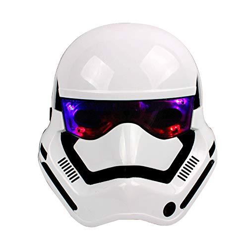 LED Leuchtende Maske Cosplay Maske für Kostüm Festpartys Karneval Weihnachten Masquerade Halloween Maske