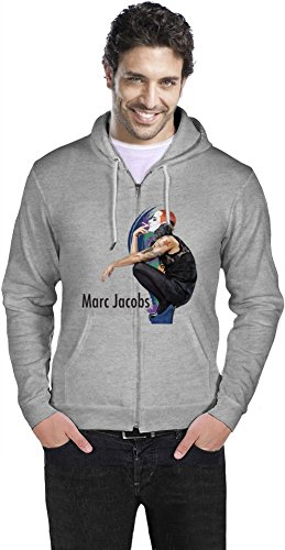 Marc Jacobs With Cigarette Mens Zipper Hoodie XX Large