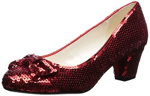 The Highest Heel Women's Wizard of Oz Dorothy Pump, red, 10 M US