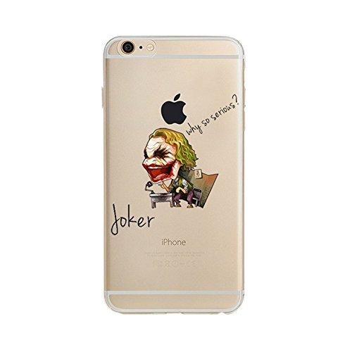 Funda transparente para Apple iPhone 7 - DC Comics - The Joker