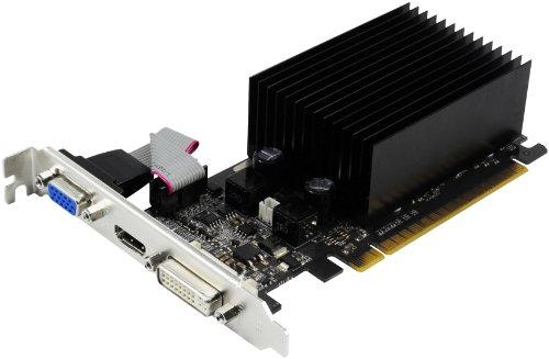 Palit NEAG2100HD06H GeForce 210 Grafikkarte (PCI-e, 1GB GDDR3, DVI, HDMI, CRT, 1x GPU)