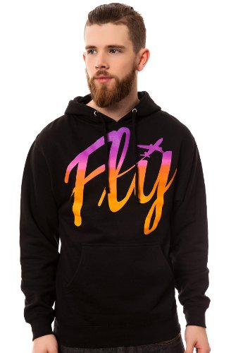 Fly Society Men's All Aboard Pullover Hoody Extra Extra Large Black