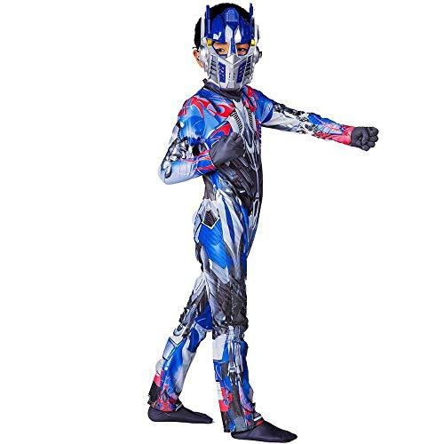 Chang Cosplay Kleidung Transformers Cosplay Kostüm Optimus Prime Bumblebee 3D Digitaldruck Enge Weihnachten Halloween Kostüm Für Kinder/Erwachsene Maskerade T,A-120