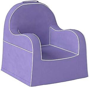 P'kolino Little Reader Light Purple with White Piping