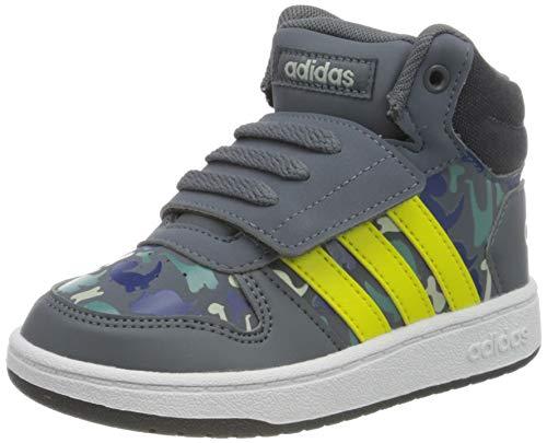 adidas Unisex Baby Hoops Mid 2.0 Sneaker, Grau (Onix/Shoyel/Ashsil Onix/Shoyel/Ashsil), 23 EU