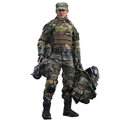 1/6 modelo soldado, 30 cm flexible soldado figura de acción modelo con accesorios figuras militares soldado juego escritorio decoración
