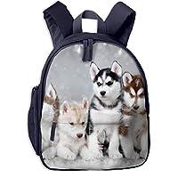 素敵なハスキー兄弟 迷子防止リュック バックパック 子供用 子ども用バッグ ランドセル レッスンバッグ 旅行 おでかけ 学用品 子供の贈り物