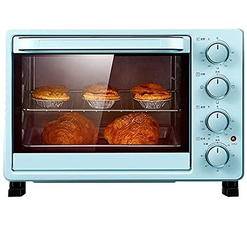 ZLQBHJ 25L Mini horno Máquina de pan doméstico, cocina Mini tostadora Horno de tostadora, 60-230 ℃ Control de temperatura 60 minutos Temporizador Operación simple, for herramientas de cocina de cocina