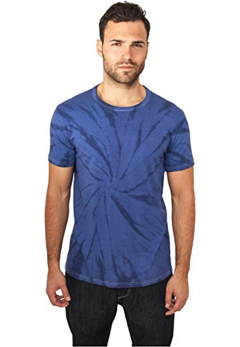 Urban Classics - BATIK T-Shirt bleu indigo