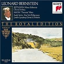 Beethoven: Missa Solemnis; Choral Fantasy / Haydn: Theresia Mass Bernstein Royal Edition #11