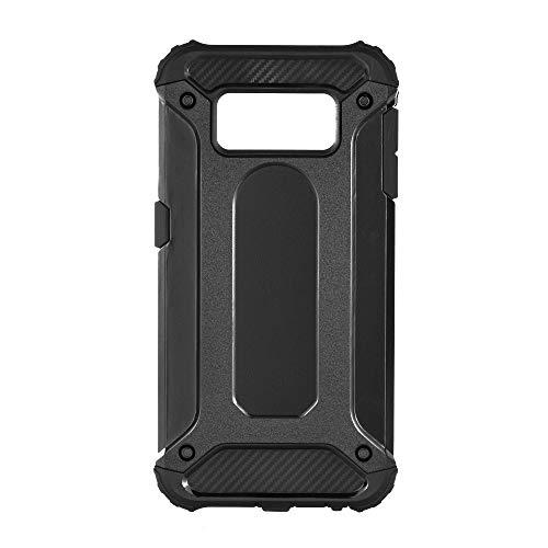 Forcell Armor - Dual Layer Hybrid Shockproof beschermende robuuste koffer voor Samsung Galaxy S6 Edge - zwart