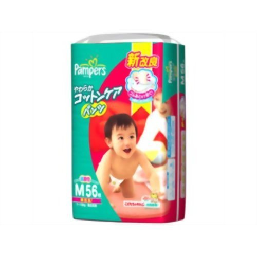 [P&G] Pampers Cotton Care Pants M size x 56 pieces
