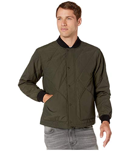 Filson Quilted Pack Jacket Dark Otter Green LG