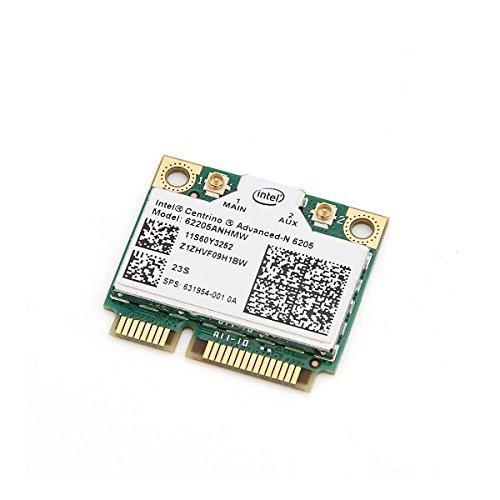 Intel 6205 Anhmw - Tarjeta WiFi inalámbrica para Lenovo Thinkpad T420, T520, X220, y para HP 8460, 8560, 2570 y 6460