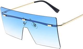 إطار نظارة شمسية كبير متصل بالنظارات الشمسية مربع بدون إطار