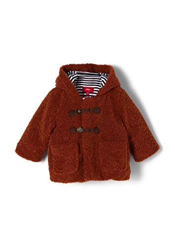 s.Oliver Junior Baby-Jungen 405.12.009.16.151.2039497 Wollmischungs-Mantel, Orange, 68