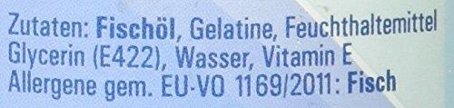 Vitasyg Omega 3 Fischöl Kapseln 1000 mg 18 prozent EPA, 12 prozent DHA – 100 Stück, 1er Pack (1 x 137 g) - 6