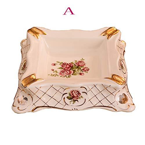 Czz Aschenbecher Im Europäischen Stil, Luxus, Kreativität, Personalisierte Modeschmuck, Hochwertige Deko Für Zuhause, Keramik,A,Aschenbecher