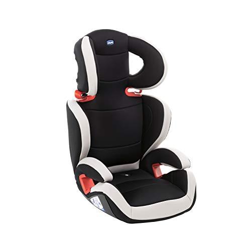 Chicco Key 23 Siège Auto Bébé Inclinable Groupe 2/3 pour Enfants de 3 à 12 ans, 15 à 36 kg, Facile à Installer, Réglable en Hauteur et en Largeur - Noir