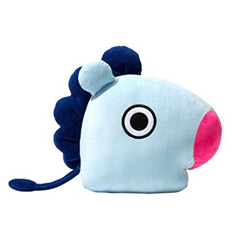 Kingmia Kpop BTS, BTS Kissen Cute Cartoon Plüsch Puppe Dekokissen Kissen BTS Jimin Geschenk für a.r.m.y 45cm*55cm BTS MANG(H11)