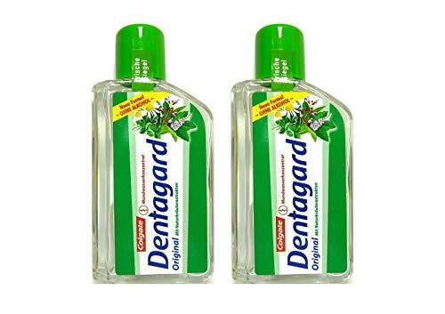 2x Dentagard Original Mundwasserkonzentrat 75ml Naturkräuterextrakt Ohne Alkohol
