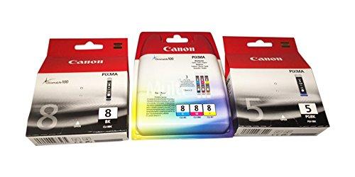 5 ORIGINAL Canon Patronen Pixma iP4300 iP5300 4200 5200