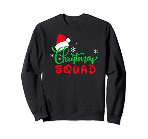 Christmas Squad Original Disfraz Grupo Familia Mujer Hombre Sudadera