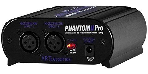 ART Phantom Two Pro - Unidad de alimentación dual