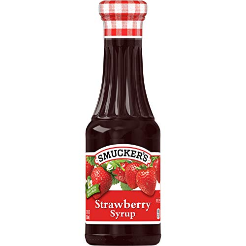 Smucker#039s Strawberry Syrup 12 Ounces Pack of 6