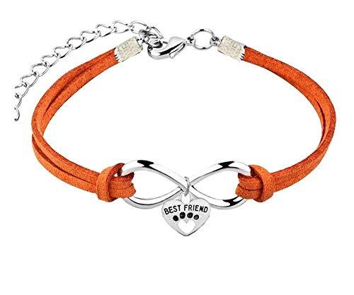 Armband - dieren - poot - hanger - hart - katten - oneindig - honden - kleurrijk - man - vrouw - unisex - sieraden