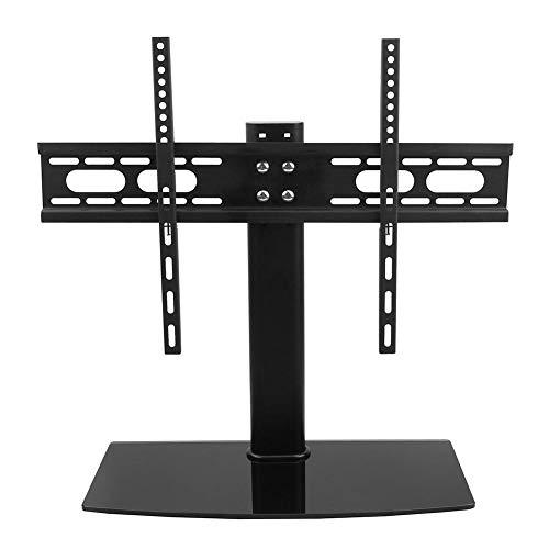 GOTOTOP Soporte de TV con Pedestal Soporte de Mesa para Televisor Soporte de TV para Pantallas de 52