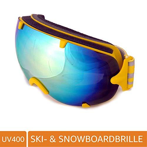 NAVIGATOR PI Skibrille Snowboardbrille, Unisex/-Size, div. Farben (GELB)