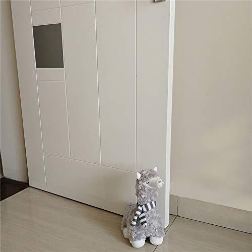 Cute Decorative Door Stopper for Home and Office Door Stopper, Alpaca Girl Weighted Interior Fabric Design Door Stopper