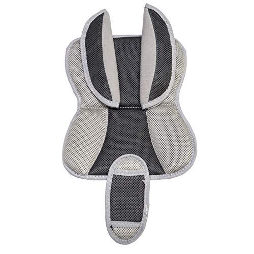 Burley Unisex - Babys Deluxe zitkussenset, grijs, One Size
