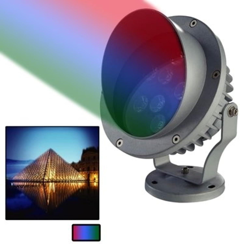 3W   Qualitt Druckguss-Aluminiummaterial RGB-Licht LED Flutlichtlampe 240LM Sonnenlicht (Artikelnummer   S-led-1552r)