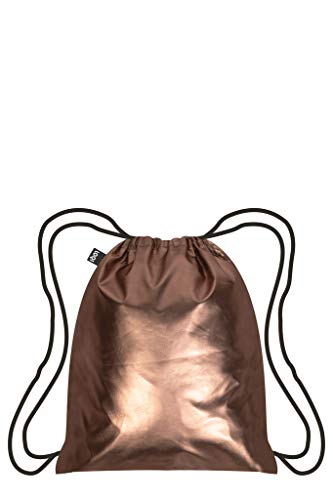 LOQI Metallic Rucksack, 10 Liter, Matt Rose Gold
