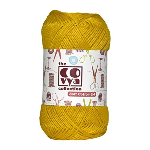 KACHVI 100% algodón 8/4 Ply Yarn Thread Balls para punto de ganchillo Home Decor Scarf Tassel...