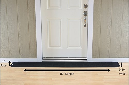 EZEdge Transition Threshold Ramp For a Door Sill, 1
