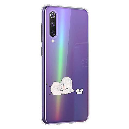 Oihxse Animal Serie Case Compatible con Huawei P9 Funda Transparente Suave Silicona...