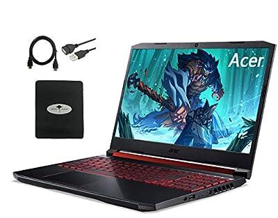 "Acer Nitro 5 Gaming Laptop 15.6"" FHD IPS, 9th Gen Intel Core i5-9300H(Beat i7-7700T), GeForce GTX 1650, 8GB RAM, 128GB SSD + 1TB HDD, Backlit Keyboard HDMI WiFi6, w/GM Accessories"