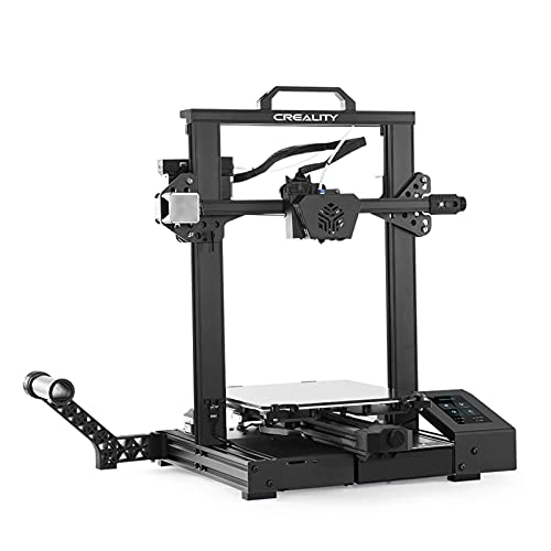 AWSAD CREALITY CR-6 SE 3D Printer, Printing Size 235x235x250mm, 4.3in HD Color Touchscreen, Widely Used in Home Decoration Toys (Color : CR-6SE)