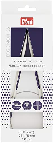Prym Circular Needle 24' 8, Size 8/5mm