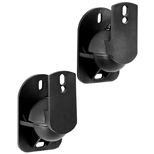 Ultratec Universal Lautsprecher Wandhalterungen LSWH-C5 Classic, 2er Set