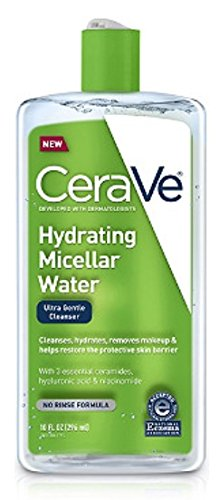 CERAVE Hydrating Micellar Water Ultra Gentle Cleanser 10oz, pack of 1