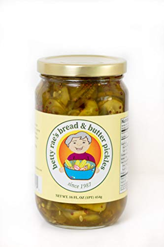 Betty Rae's Bread & Butter Pickles