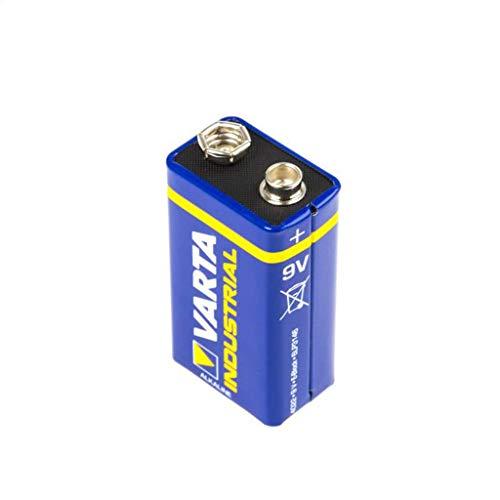Varta Batterie INDUSTRIAL 9V E-Block - Alkaline 4022 6LR61