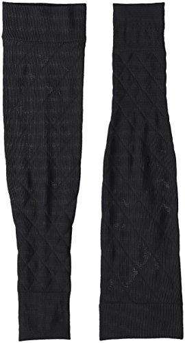 靴下サプリ クツシタサプリ 靴下サプリ 二の腕着圧すっきりアームカバー X737-990 ブラック M