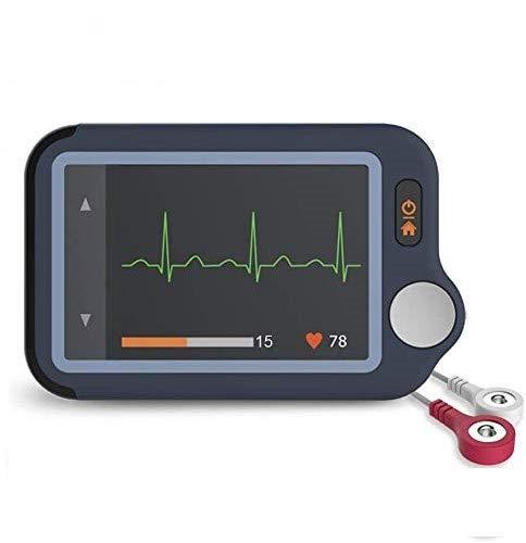 ViATOM EKG-Monitor, Herzmonitor mit EKG, Bluetooth-Herzüberwachungsgerät mit iOS & Android App, 30s/60s/5min Aufzeichnung, Arbeiten mit Smartphone und PC, Persönlich tragbar Tracker für Herzgesundheit
